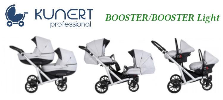 Carucioare pentru gemeni Kunert Booster/Booster Light | Pui Mic Targu Mures